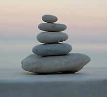 Beach pebbles, Corfu, Greece by CatherineMoore4