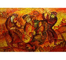 Old Klezmer Music Photographic Print