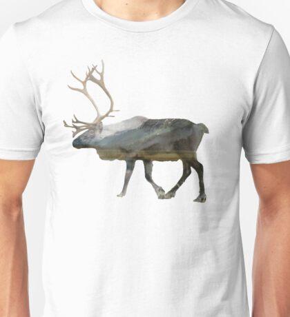 Reindeer Road to Homer Unisex T-Shirt