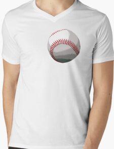 Baseball Mens V-Neck T-Shirt