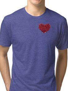Heart of Roses Tri-blend T-Shirt