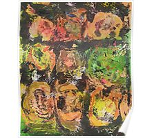 Abstract Expressionism 9 Poster