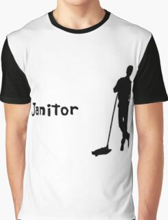 Janitor Graphic T-Shirt
