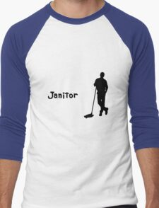 Janitor Men's Baseball ¾ T-Shirt