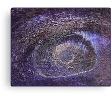 Trippy Eye Psychedelic Poster Canvas Print