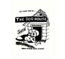 Retro Seattle – Dog House Restaurant  Art Print