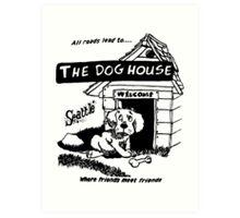 Retro Seattle – Dog House Restaurant  Art Print