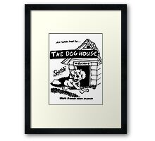 Retro Seattle – Dog House Restaurant  Framed Print