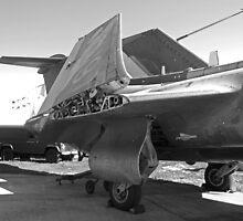Blackburn Buccaneer S2 aircaft by Robert Gipson