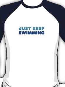 Finding Nemo - Just Keep Swimming T-Shirt