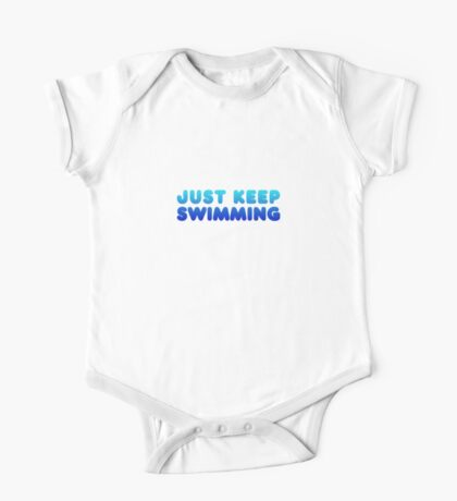 Finding Nemo - Just Keep Swimming One Piece - Short Sleeve