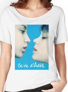 Blue is the Warmest Color poster Women's Relaxed Fit T-Shirt