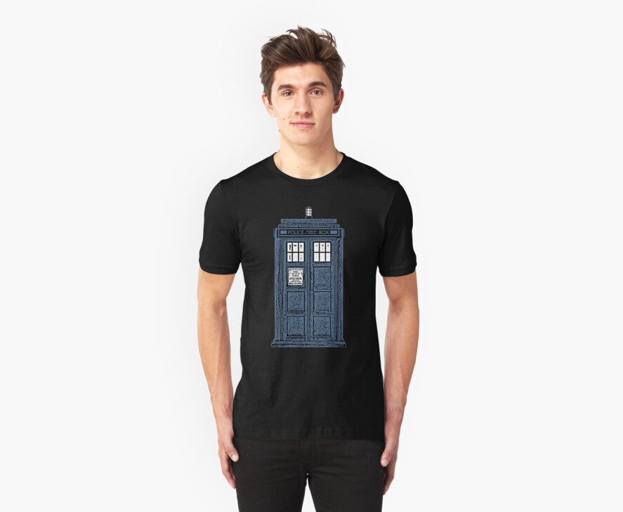 The TARDIS by SamOliver