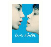 Blue is the Warmest Color poster Art Print