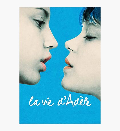 Blue is the Warmest Color poster Photographic Print