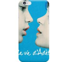 Blue is the Warmest Color poster iPhone Case/Skin