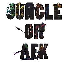 Jungle or Afk Photographic Print