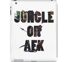 Jungle or Afk iPad Case/Skin