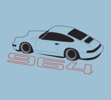 Porsche 964 Graphic by VolkWear
