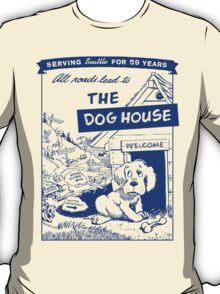 Retro Seattle – Dog House Restaurant Menu T-Shirt