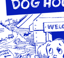 Retro Seattle – Dog House Restaurant Menu Sticker