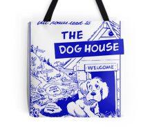 Retro Seattle – Dog House Restaurant Menu Tote Bag