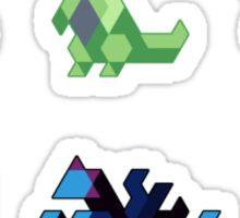 Trixel Pokemon II Sticker