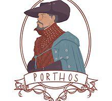 Porthos by Jemima Williams