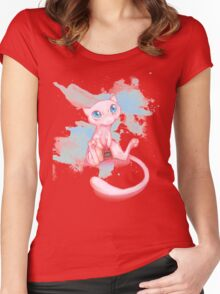 Gamer Mew Women's Fitted Scoop T-Shirt