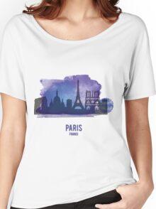 Paris France Women's Relaxed Fit T-Shirt