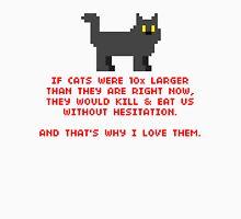 8-Bit Cat Enthusiast Unisex T-Shirt