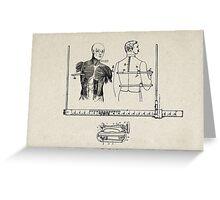 SASTRE (Tailor) Greeting Card
