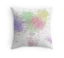 The Graph Of Thinkers Throw Pillow