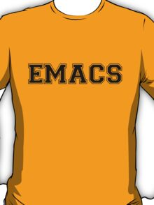 EMACS - The One True Editor T-Shirt