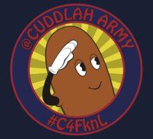 Cuddlah Army RISE! Kids Tee