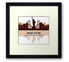 New York USA Framed Print
