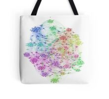 The Graph Of Ice Hockey Players Tote Bag