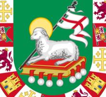Rodriguez Shield of Puerto Rico Sticker