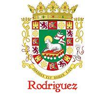 Rodriguez Shield of Puerto Rico Photographic Print