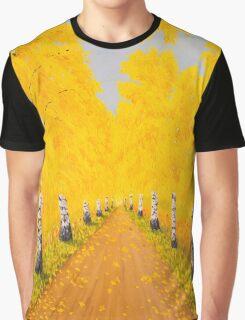 Golden Autumn Graphic T-Shirt