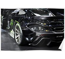 McLaren M1 - Fab Design - Geneva Auto Salon 2014 Poster