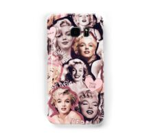 Marilyn Monroe Collage Samsung Galaxy Case/Skin