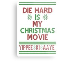 Die Hard is my Christmas Movie! Metal Print