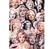 Marilyn Monroe Collage Photographic Print