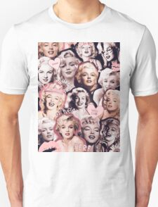Marilyn Monroe Collage Unisex T-Shirt