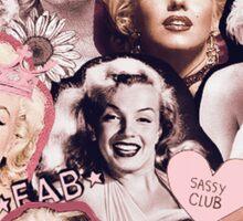 Marilyn Monroe Collage Sticker