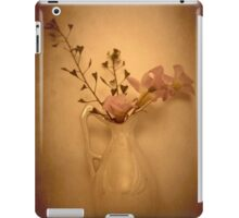 Pink Flowers In My China Vase... iPad Case/Skin