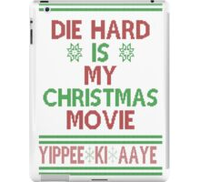 Die Hard is my Christmas Movie! iPad Case/Skin