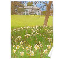 The Mansion in Spring Poster
