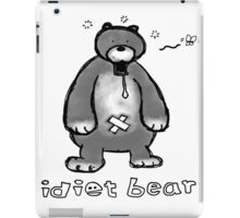 Funny bear iPad Case/Skin